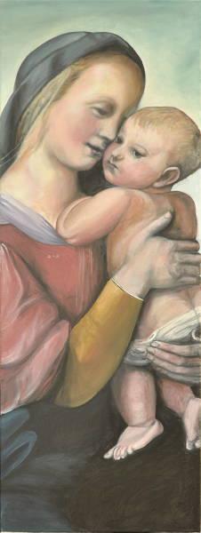 Madonna Tempi nach Raffael, Gemälde